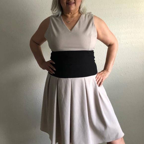 Ellen Tracy Dresses & Skirts - Ellen Tracey Black and Tan dress